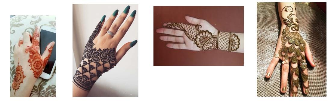 4 + belles images henné main